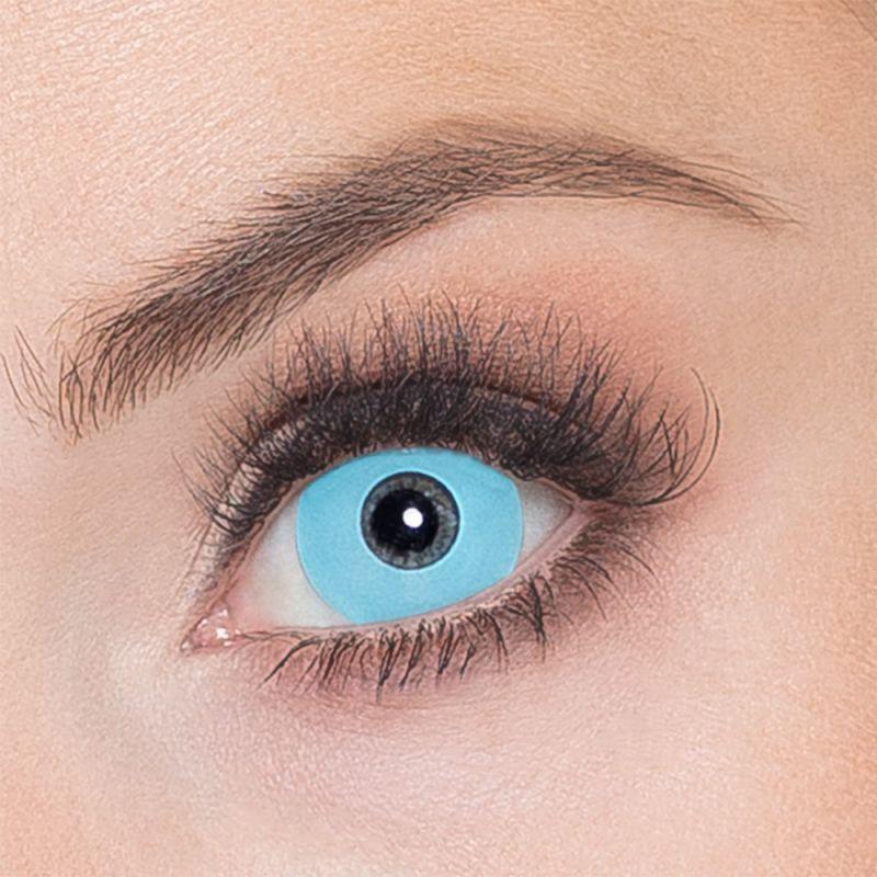 Oční čočky - Vlkodlak modré (74D)