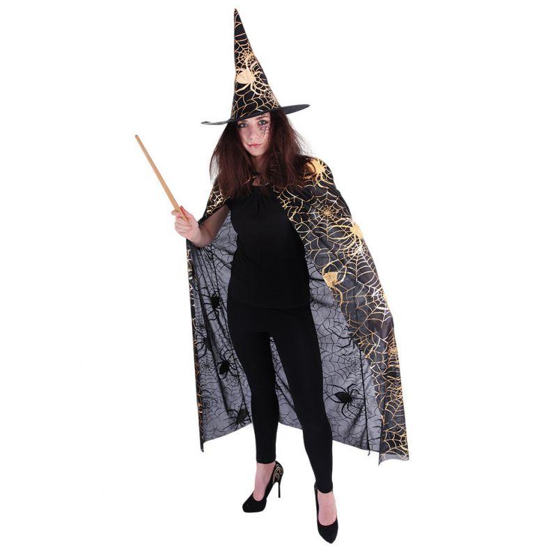 Plášť čarodějnice s kloboukem (57)