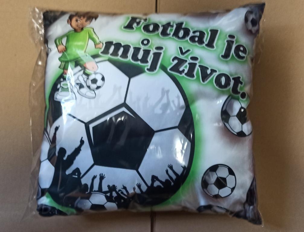 Polštář - Fotbal je můj život (17-J)