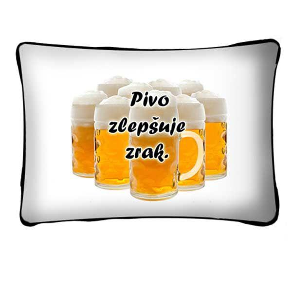 Polštář - Pivo zlepšuje zrak (17-J)