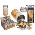 Puzzle Pivo v plechovce  -102 kusů (70-D