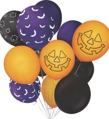 Sada balónků Halloween (12)